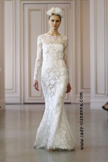 Свадебные платья 2016 года фото Oscar De La Renta