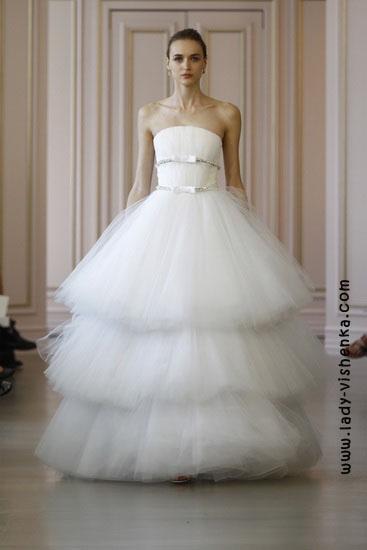 Оригинальные свадебные платья Oscar De La Renta