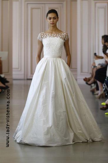 Свадебное платье принцессы Oscar De La Renta
