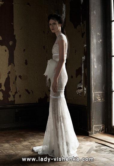 Прозрачные свадебные платья Вера Вонг