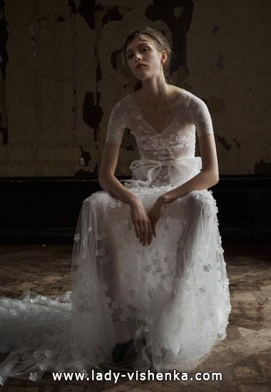 Красивые свадебные платья - Вера Вонг