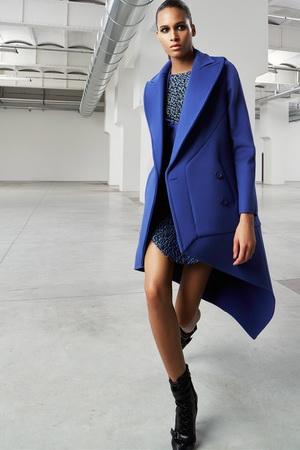 Синее пальто - весна 2015