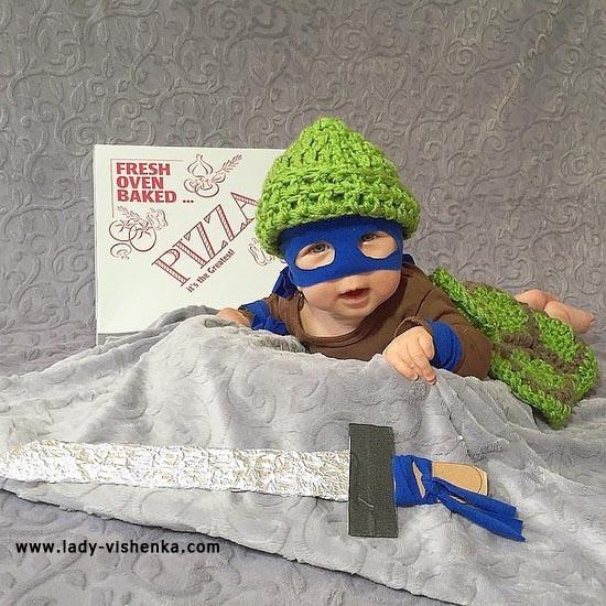 Костюм для малыша - Черепашка-ниндзя
