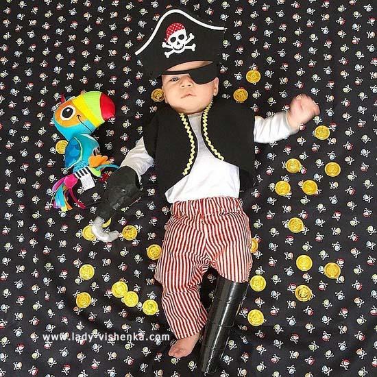 Костюм пирата для малыша