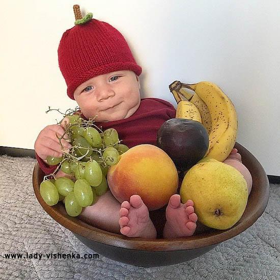 Костюм Вишенки для малыша