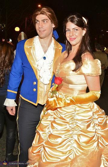 Бель и принц на Хэллоуин