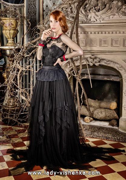 Черное свадебное платье - Jordi Dalmau