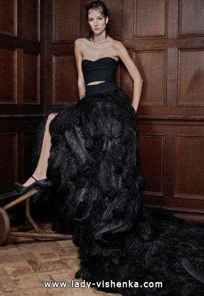 Черное свадебное платье 2016 - Vera Wang
