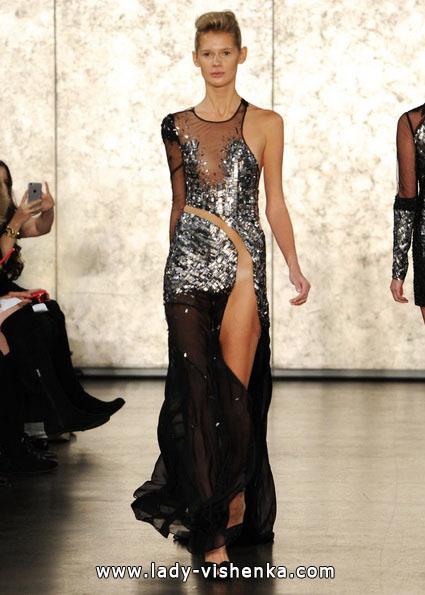 Свадебное платье черного цвета - Inbal Dror