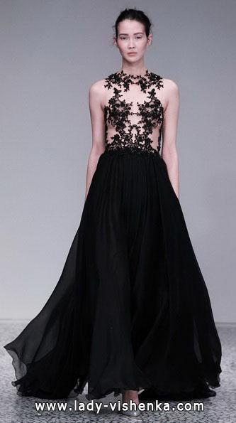 Черное свадебное платье 2016 - Kaviar Gauche