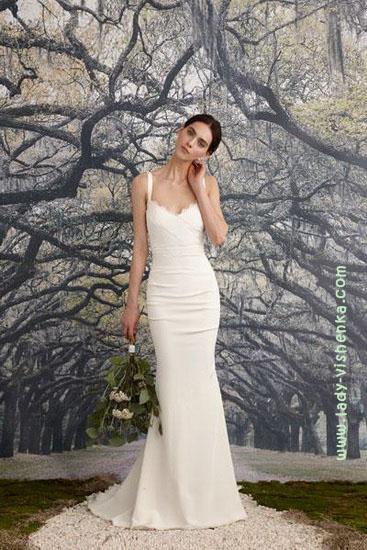 Красивые свадебные платья Nicole Miller