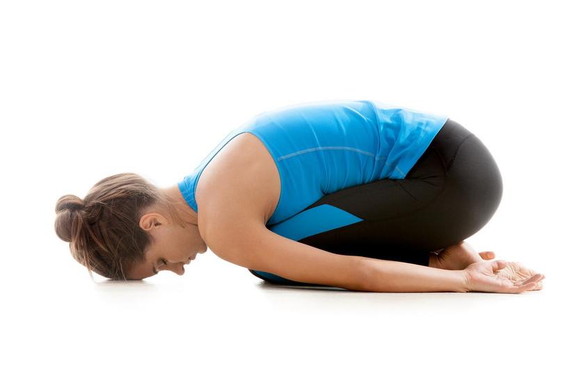 Поза ребенка - упражнения йоги