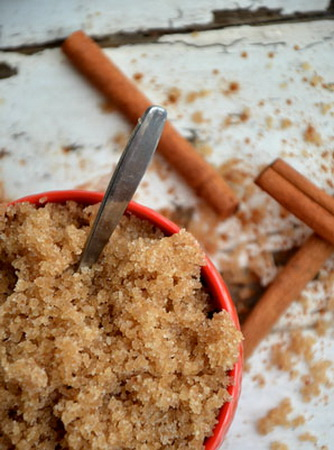 Рецепт сахарного скраба с ванилью и корицей