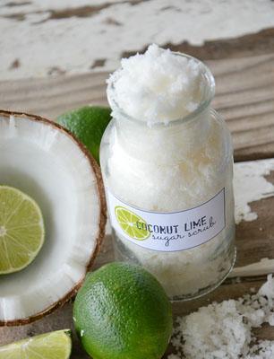 Домашний кокосовый скраб для тела