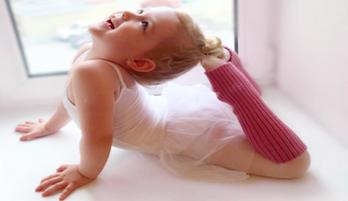 Ежемесячные фото ребенка