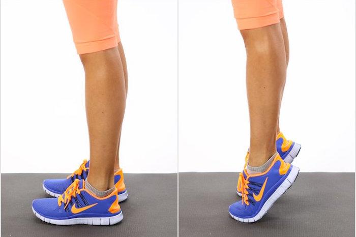Упражнение на икроножные мышцы