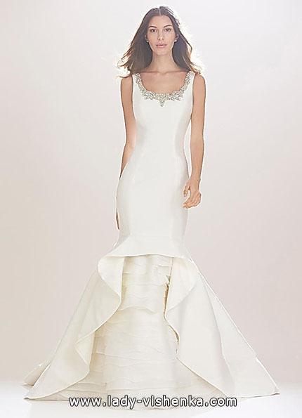 Свадебное платье рыбка фото - Carolina Herrera