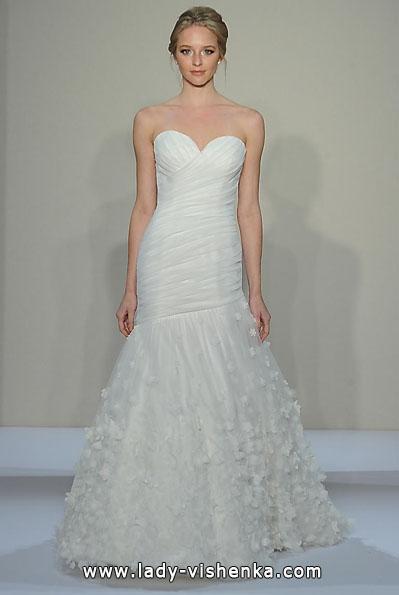 Свадебное платье рыбка фото - Dennis Basso