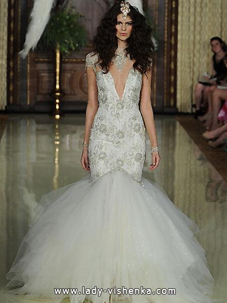Свадебное платье рыбка фото - Galia Lahav
