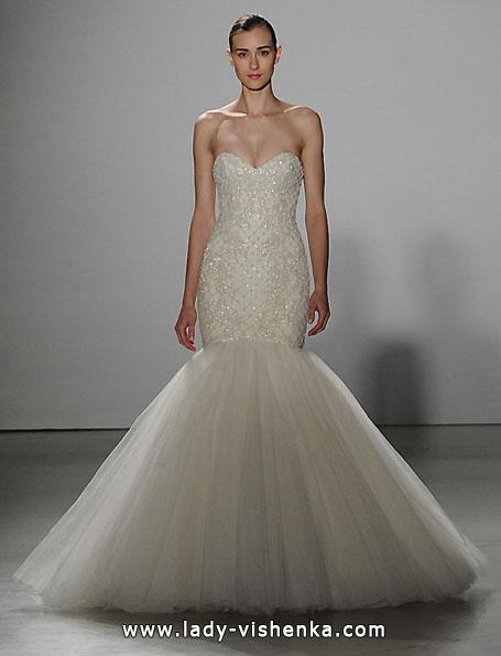 Свадебное платье рыбка без шлейфа - Kenneth Pool