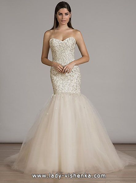 Свадебное платье рыбка - Liancarlo