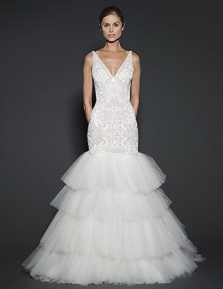 Свадебное платье русалочка - Naeem Khan