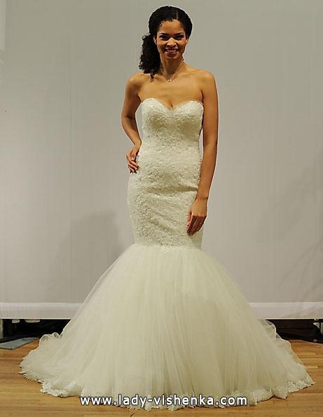 Свадебное платье рыбка - Paloma Blanca