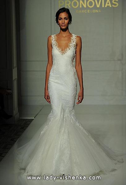 Свадебное платье рыбка - Pronovias