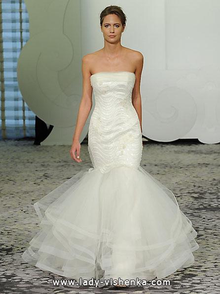 Свадебное платье русалочка - Rivini