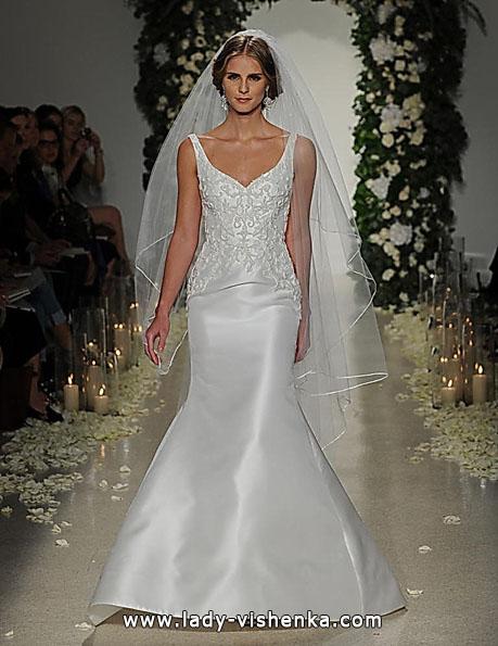 Свадебное платье рыбка без шлейфа - Anne Barge