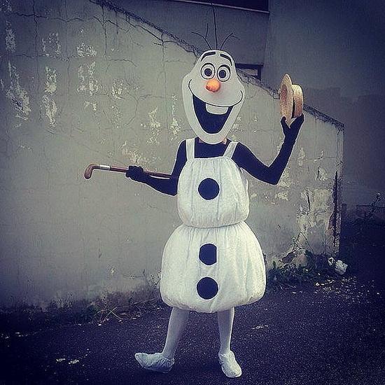 Олаф - костюм на Хэллоуин