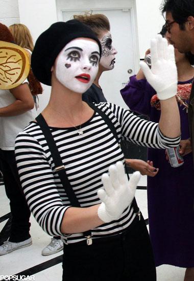Мим на Хэллоуин