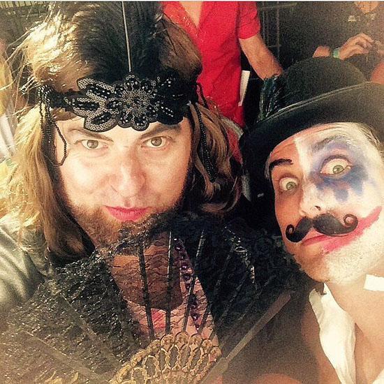 Знаменитости в костюмах на Хэллоуин - Этель Дарлинг
