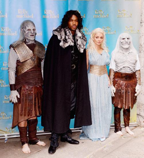 Знаменитости в костюмах на Хэллоуин - Игра Престолов