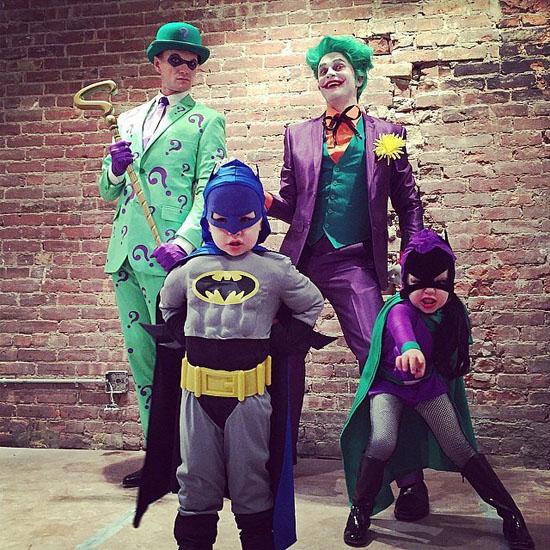 Бетмен с друзьями - костюмы на Хэллоуин