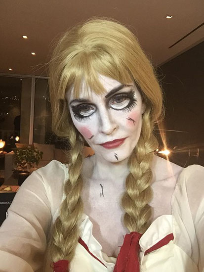 Костюм Анабелль на Хэллоуин
