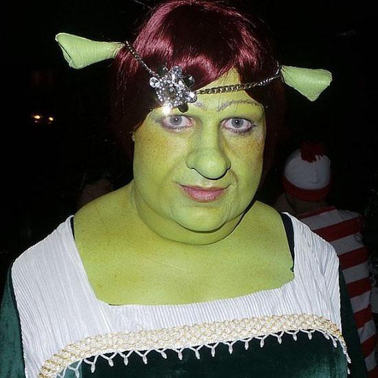 Знаменитости в костюмах на Хэллоуин - Фиона