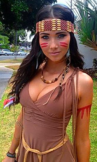 Костюм Покахонтас на Хэллоуин