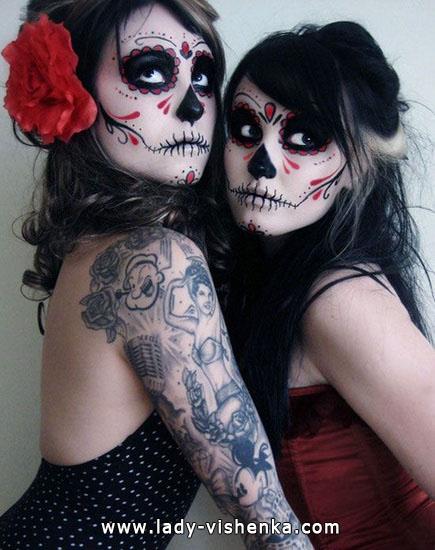 Костюм скелета на Хэллоуин своими руками