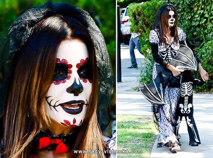 Образ Скелета на Хэллоуин - фото