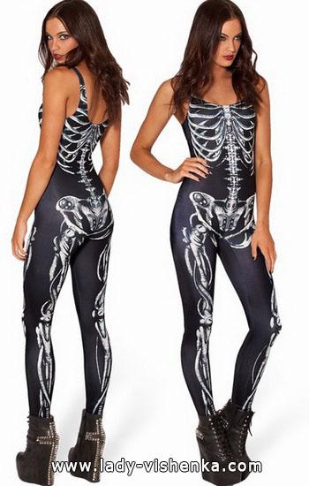 Идея наряда на Хэллоуин - Скелет