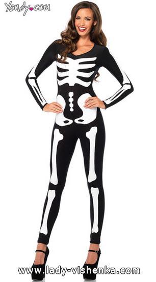 Наряд на Хэллоуин - Скелет