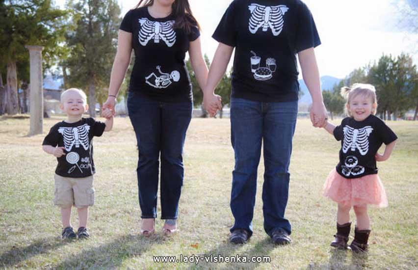 Скелеты на Хэллоуин для всей семьи