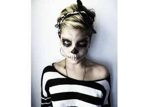 Костюм скелета для девушек на Хэллоуин