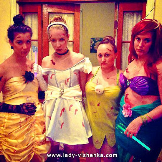 Образ Диснеевской принцессы своими руками на Хэллоуин