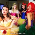 Образ Диснеевской принцессы на Хэллоуин