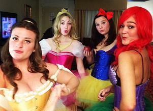 Диснеевские принцессы на Хэллоуин