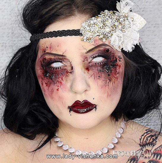 Девушка 60-х на Хэллоуин