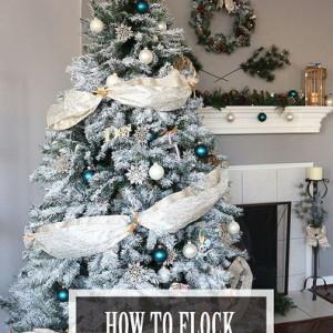 Как украсить искусственную елку