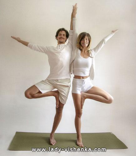 Йога для двоих - Двойное дерево